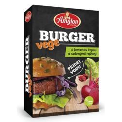 Burger Vege s červenou řepou a suš.rakčaty AMYLON 125g