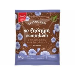Kaše Semix Ovesná s lněným semínkem s čokoládou a kešu 65g