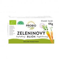 Bujón zeleninový kostky BIO 66g Pro Bio