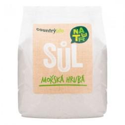 Sůl mořská hrubá Atlantik 1kg COUNTRY LIFE