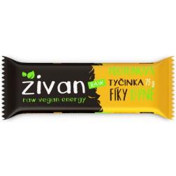 Tyčinka ŽIVAN PROTEINOVÁ fíky + dýně RAW 75g
