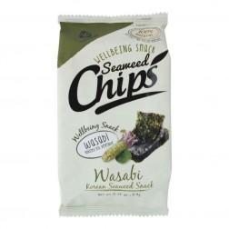 Mořské řasy Chips pražené nori s wasabi 4.8g