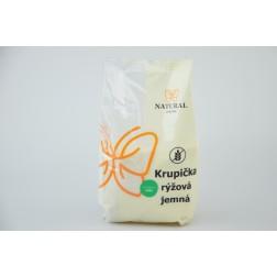 Krupice rýžová jemná 500g NATURAL JIHLAVA