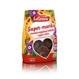 LeGracie SUPER-MANKY ovocná kolečka 40g