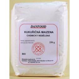 Maizena kukuřičná NEBĚLENÁ BIO 250g Danfood