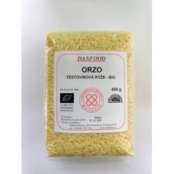 Orzo těstovinová rýže BIO 400g Danfood