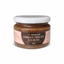 100% lískové ořechy+kakao 250g Nutspread