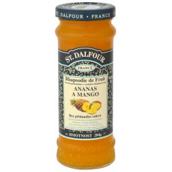Džem ovocný ananas a mango 284g ST. DALFOUR