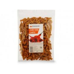 Chipsy Chilli+ konopné semínko 100g Damodara (VELKÝ sáček)
