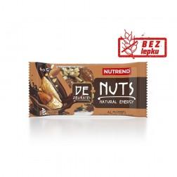 Tyčinka DeNuts mandle v hořké čokoládě 40g