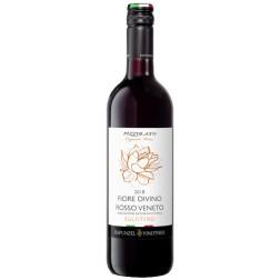 Víno Bio Fiore Divino nesířené 0,75 l ČERVENÉ