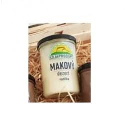 Makový dezert vanilka 375g Sojaprodukt