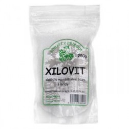 XILOVIT- Xylitol sladidlo (březový cukr) 250g Zdraví z přírody