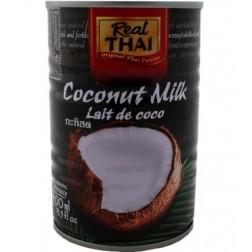Kokosové mléko plech 400ml Real THAI