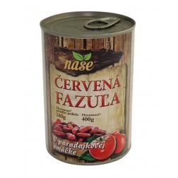 Fazole červená v rajčatové omáčce 400g