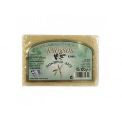 Řecké olivové mýdlo Šalvěj 100g Knossos