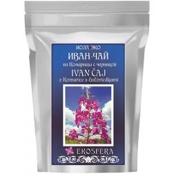 Ivan čaj z listů a květů vrbovky + borůvky 75g