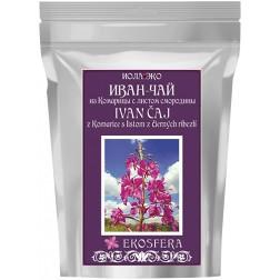 Ivan čaj z listů a květů vrbovky + list černého rybízu 75g
