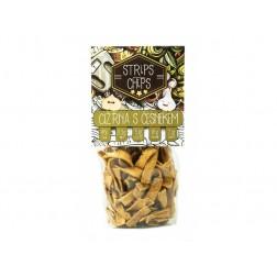 Chips Strips cizrna s česnekem 80g