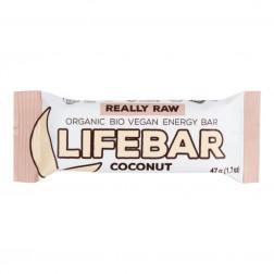 Tyčinka Lifebar kokosová BIO 47g