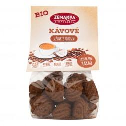 Kávové sušenky s kokosem BIO 100g Zemanka