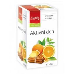 Čaj Apotheke Aktivní den 20x2g