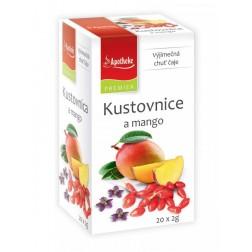 Čaj Apotheke Kustovnice a mango 20x2g