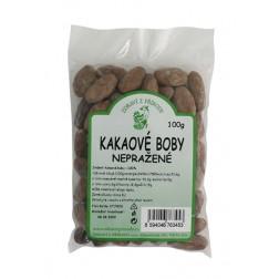 Kakaové boby nepražené 100g Zdraví z přírody