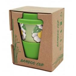 Bamboo cup ekologický hrníček zelený 280ml