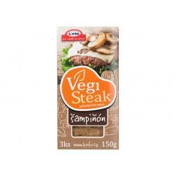 Šampiňón 150g Vegi steak Veto (Chlazené zboží)