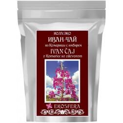 Ivan čaj z listů vrbovky úzkolisté se zázvorem 75g (1dávka se zalévá 3-5x)
