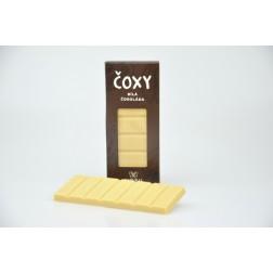 ČOXY - bílá čokoláda s xylitolem - Natural 50g