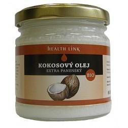 BIO Extra panenský kokosový olej 200ml HEALTH LINK