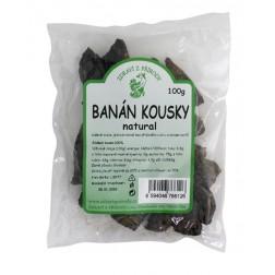 Banány sušené KOUSKY měkké natural 100g Zdraví z přírody
