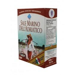 Mořská sůl jemná bez jódu Piazzolla 1kg