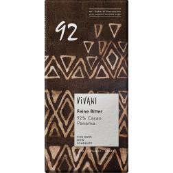 Bio hořká čokoláda 92% s kokosovým cukrem VIVANI 80g
