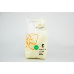 Kukuřičná mouka BIO 400g Natural