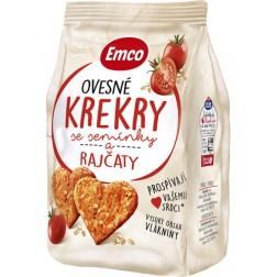 Emco Krekry ovesné se semínky a rajčaty 100g
