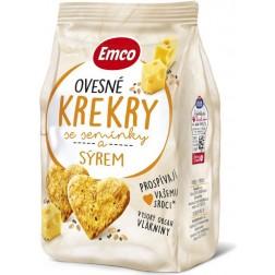 Emco Krekry ovesné se semínky a sýrem 100g
