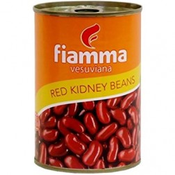 Fazole červená sterilovaná 400g Fiamma