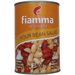 Mix 4druhů fazolí sterilované 400g Fiamma