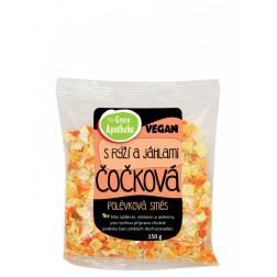 Polévková směs Čočková s rýží a jáhlemi 150g Apotheke