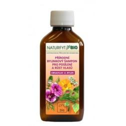 Bylinkový šampon Naturfyt-BIO - Posílení a růst vlasů 11 bylin200ml