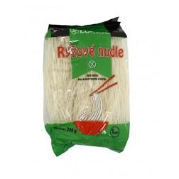 Těstoviny nudle 1mm rýžové bez lepku 240 g LUCKA