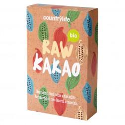 BIO Kakaový prášek odtučněný RAW 150g Country