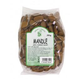Mandle jádra 250g Zdraví z přírody