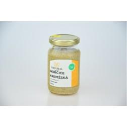 Hořčice krémžská s fruktózou 250g NATURAL JIHLAVA