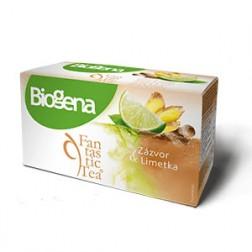 Čaj Biogena Fantastic Zázvor+limetka 20x2g
