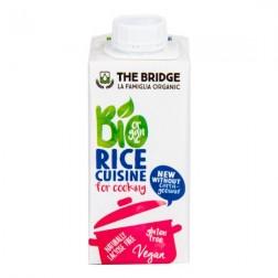 Rýžová alternativa smetany 7 % tuku 200 ml BIO THE BRIDGE