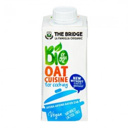 Ovesná alternativa smetany 7 % tuku 200 ml BIO THE BRIDGE
